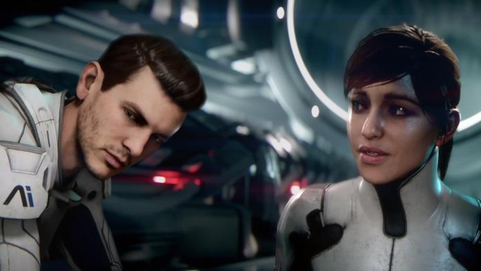 I protagonisti di Mass Effect Andromeda in un'immagine