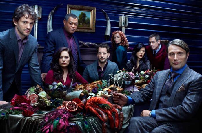 Il cast della prima stagione di Hannibal
