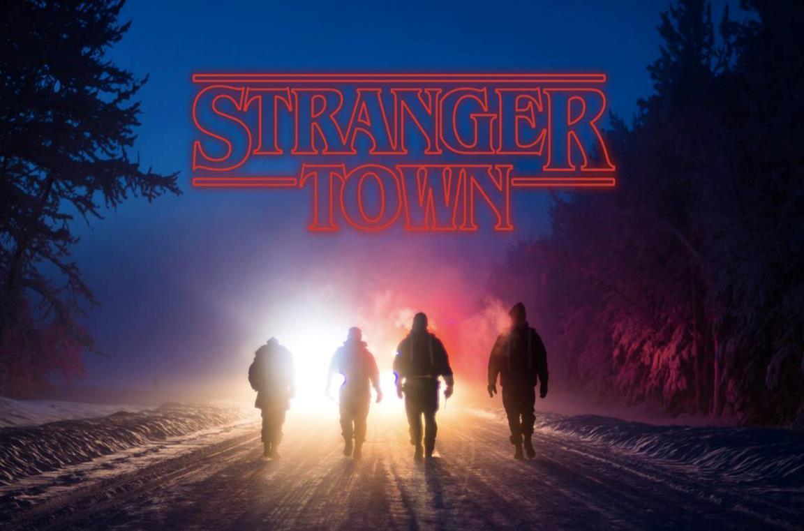 Il logo di Stranger Town