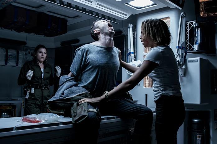 Una scena tratta da Alien: Covenant