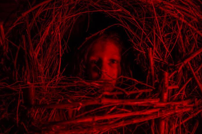 Alida Baldari Calabria in una scena di A Classic Horror Story