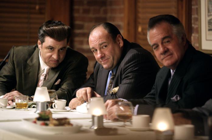 Un fotogramma tratto da un episodio de I Soprano