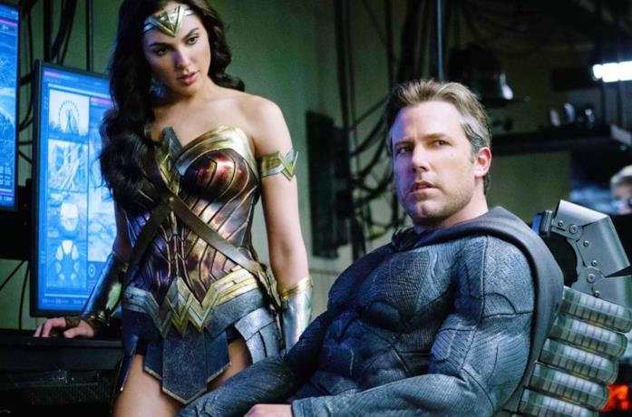 Batman e Wonder Woman in una scena del film