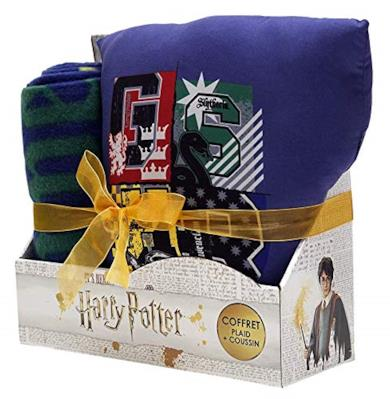Cofanetto Cuscino + Plaid Harry Potter