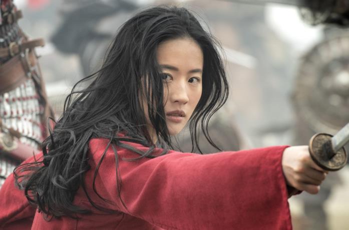 Un'immagine che ritrae la protagonista del film Mulan