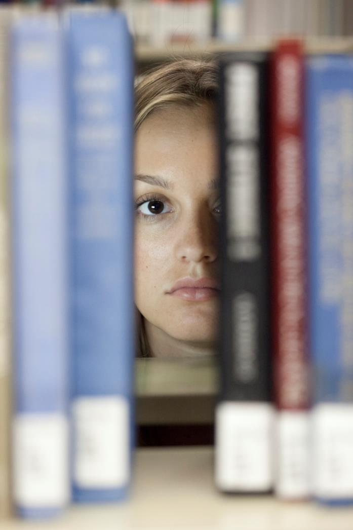 Leighton Meester in una scena del film The Roommate - Il terrore ti dorme accanto