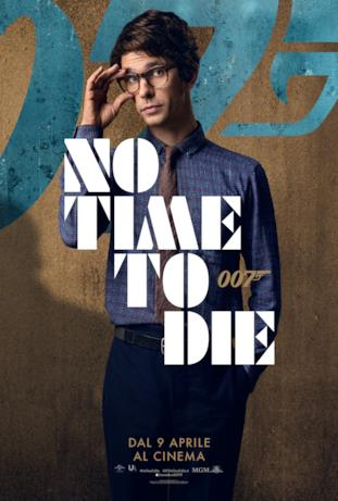 Ben Whishaw - poster di No Time To Die