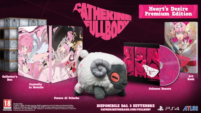 La Premium Edition di Catherine Full Body