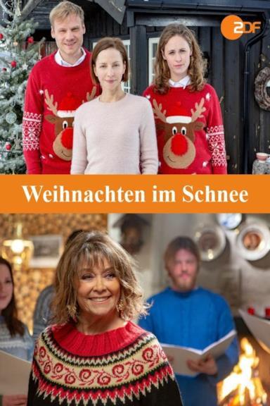 Poster Weihnachten im Schnee