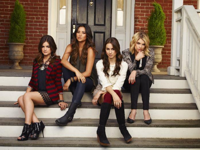 Hanna, Spencer, Aria ed Emily