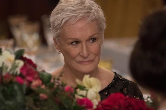 Glenn Close in The Wife - Vivere nell'ombra