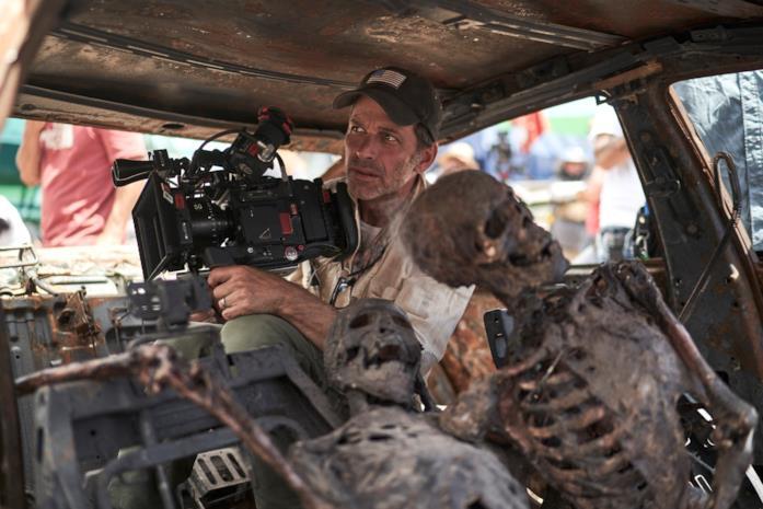 Zack Snyder sul set di Army of the Dead