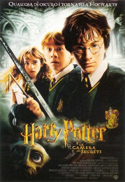 Il poster di Harry Potter e la camera dei segreti