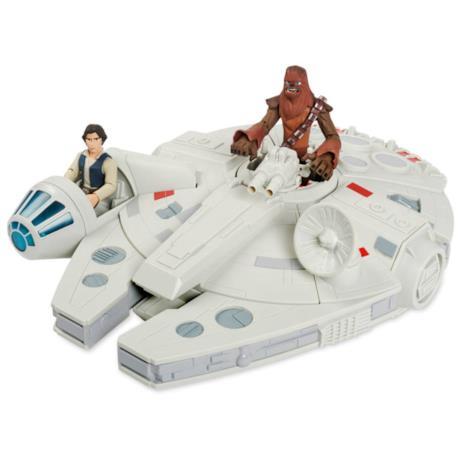 Millennium Falcon con Han Solo e Chewbacca Toy