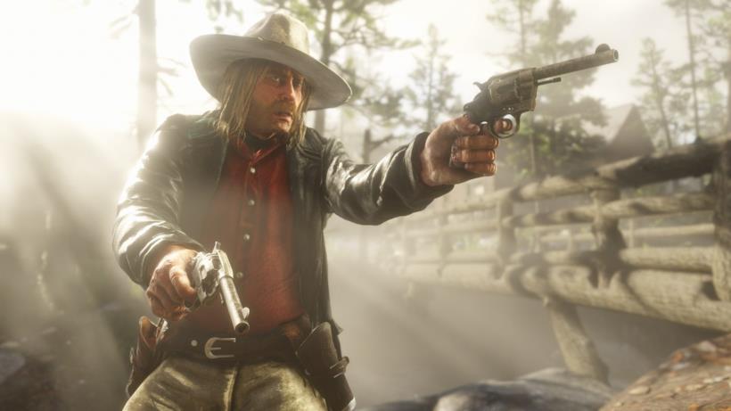 Un pistolero in Red Dead Redemption 2