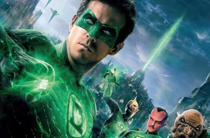 Poster di Green Lantern, cinecomic del 2011