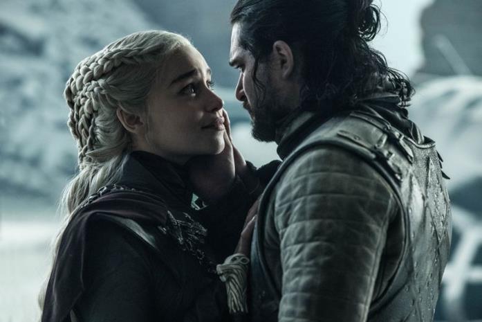 Daenerys e Jon insieme
