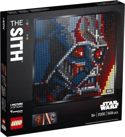 Il box di LEGO Art Star Wars
