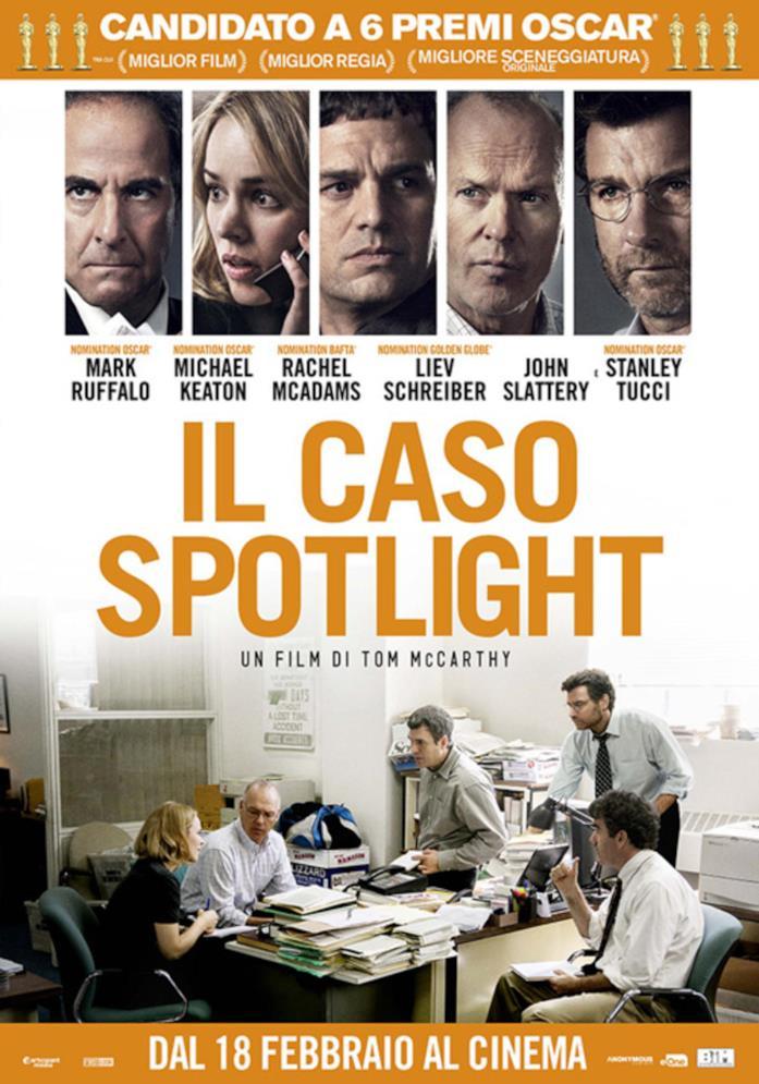 Il poster del caso Spotlight