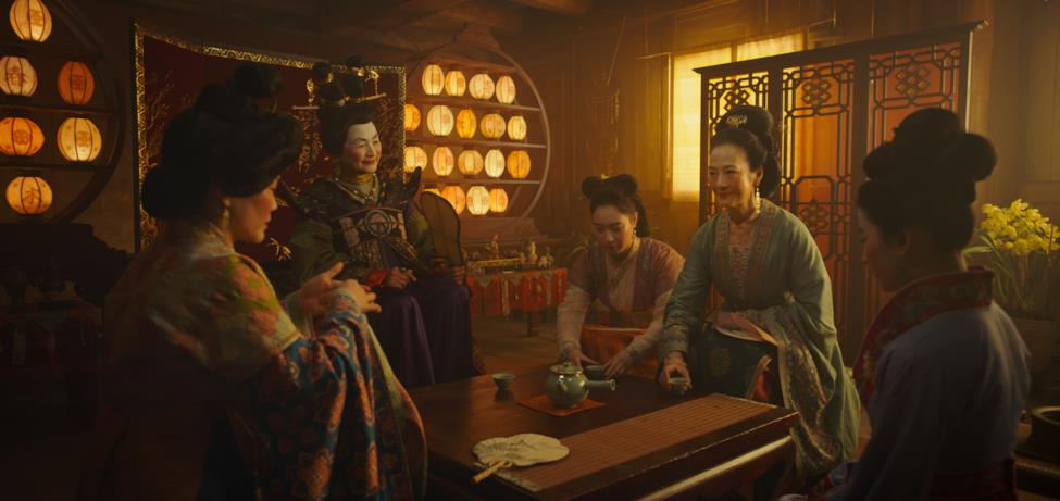 La madre di Mulan e altre donne