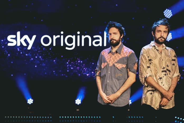 I fratelli D'Innocenzo sul palco di Sky