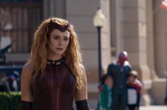 Wanda Maximoff è la Scarlet Witch nel finale di WandaVision