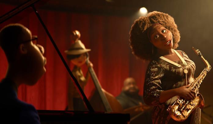 La stella del jazz Dorothea Williams in Soul