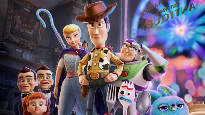 Woody ritrova Bo Peep in Toy Story 4