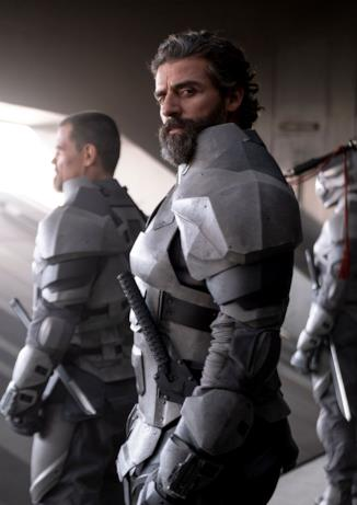 Oscar Isaac interpreta il padre del protagonista Paul in Dune