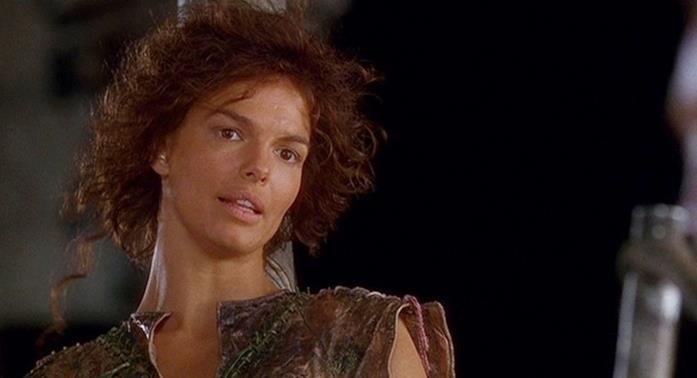 Jeanne Tripplehorn interpreta Helen in Waterworld