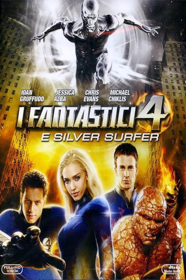 Poster I Fantastici 4 e Silver Surfer