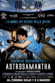Poster Astrosamantha - La donna dei record nello spazio