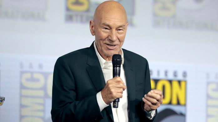 Sir Patrick Stewart al Comic Con di San Diego