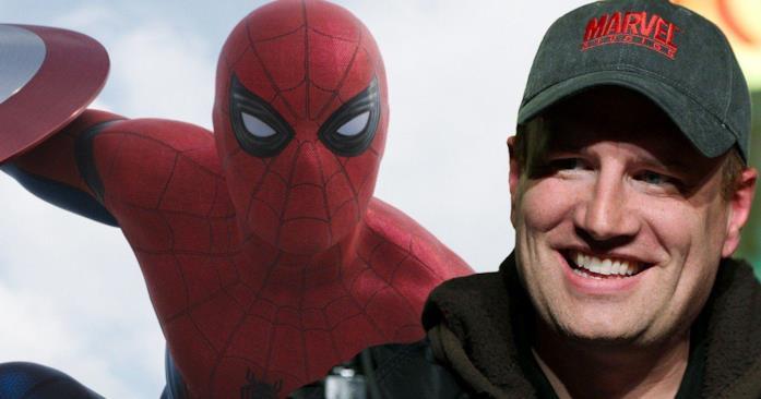 Kevin Feige visibilmente soddisfatto di aver portato Spider-Man nel MCU