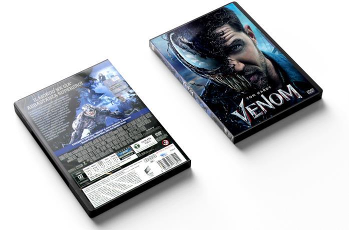 Una piccola sequenza del film Venom dove Tom Hardy mostra la sua faccia da Venom