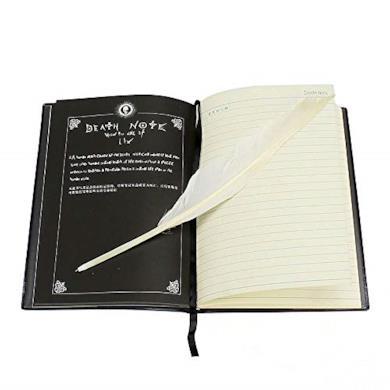 Set Death Note, con libro e pennino