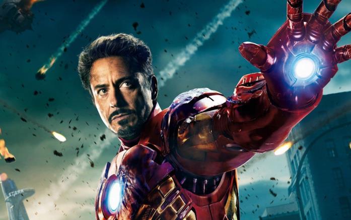 Iron Man durante una battaglia