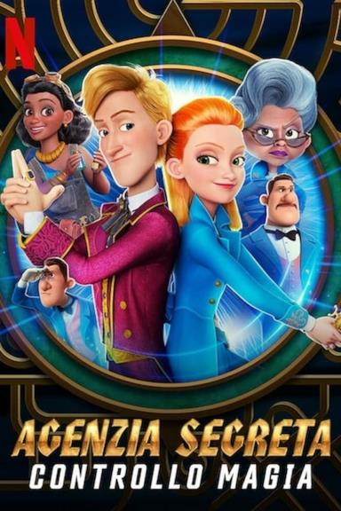 Poster Agenzia Segreta Controllo Magia