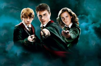 Harry Potter, Ron e Hermione