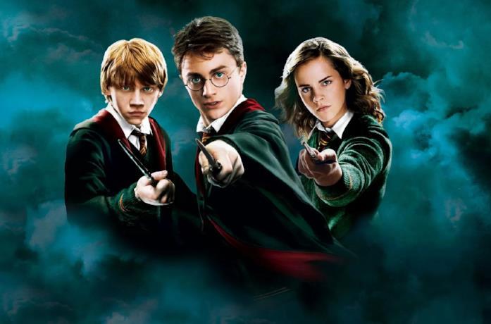 Harry Potter, Ron e Hermione