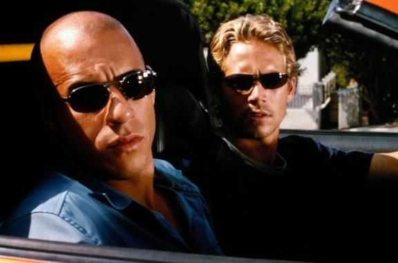 Toretto e O'Conner in una scena di Fast and Furious