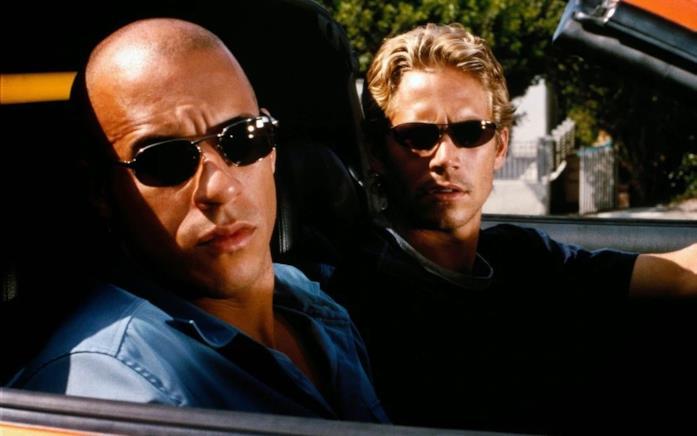 Toretto e O'Conner in una scena di Fast and Furious