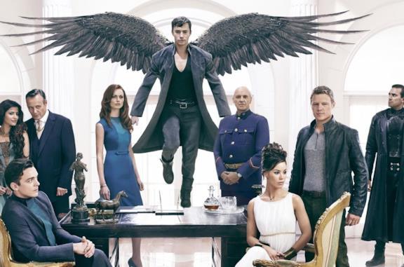 I protagonisti della serie TV Dominion