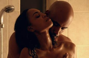 Sharon Leal e Boris Kodjoe in una scena del film Addicted - Desiderio irresistibile