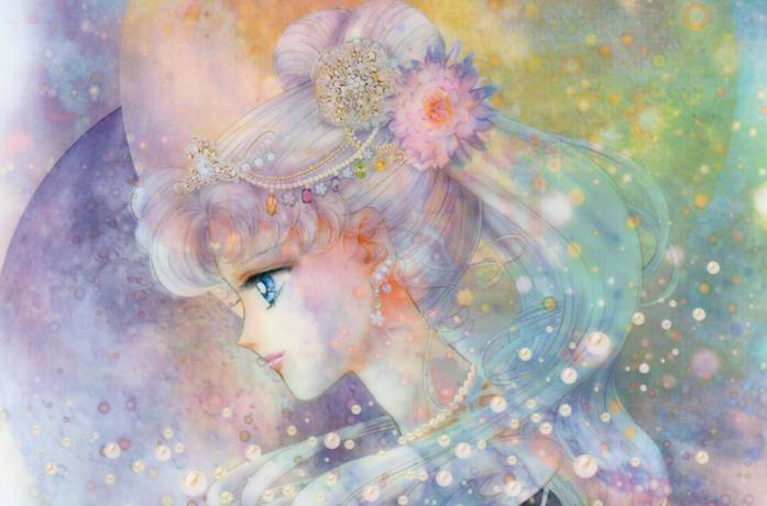 Sailor Cosmos in un'illustrazione di Naoko Takeuchi