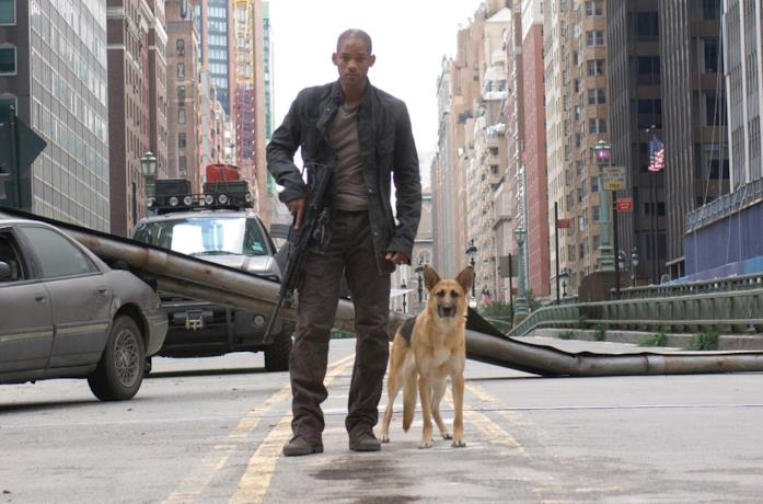 Will Smith nel poster del film