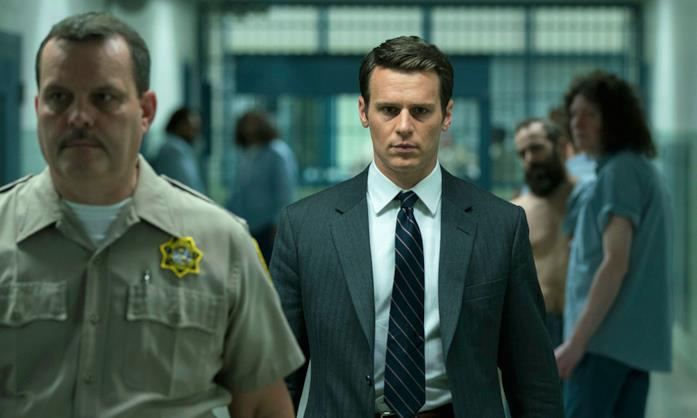 Jonathan Groff nei panni dell'agente Holden Ford