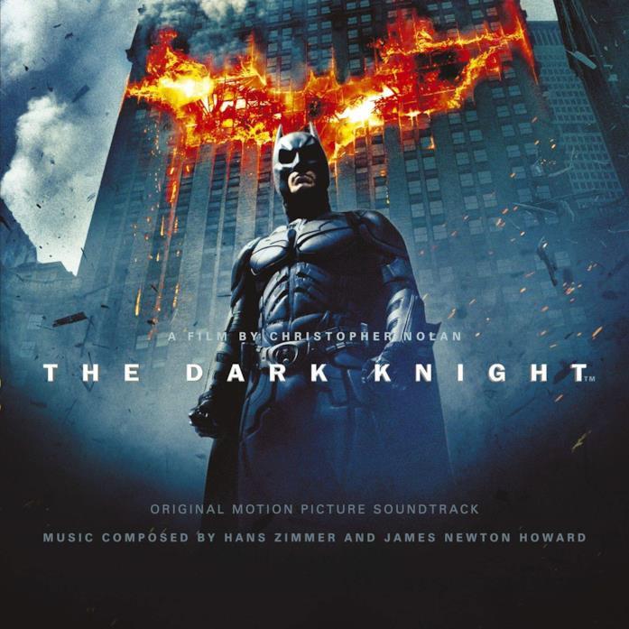Copertina della colonna sonora de Il cavaliere oscuro