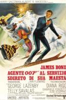 Poster Agente 007 - Al servizio segreto di Sua Maestà