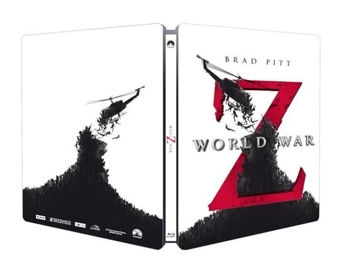 cover di World War Z in versione steelbook